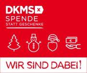 DKMS SpendenStattSchenken Banner 300x250px